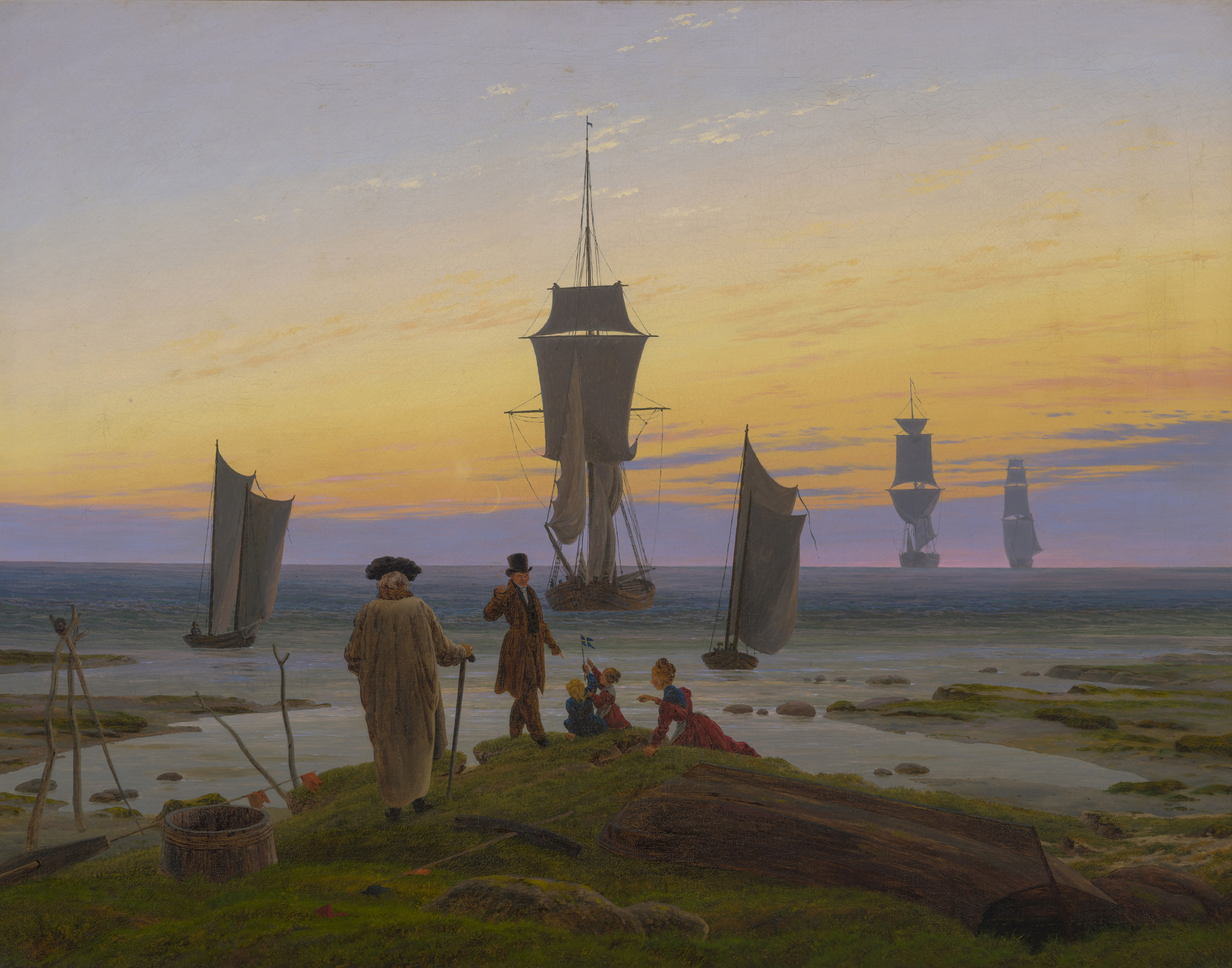 Caspar David Friedrich and the Düsseldorf Romanticists